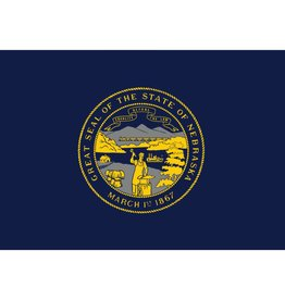 Nebraska Nylon Flag