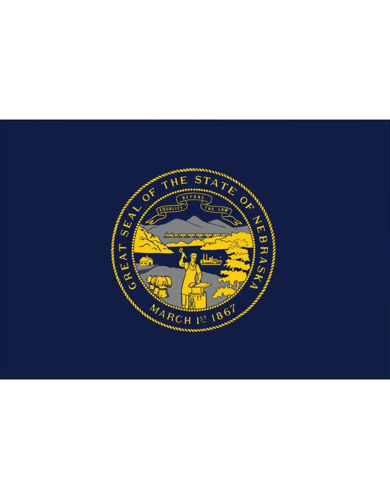 Nebraska Nylon Flag