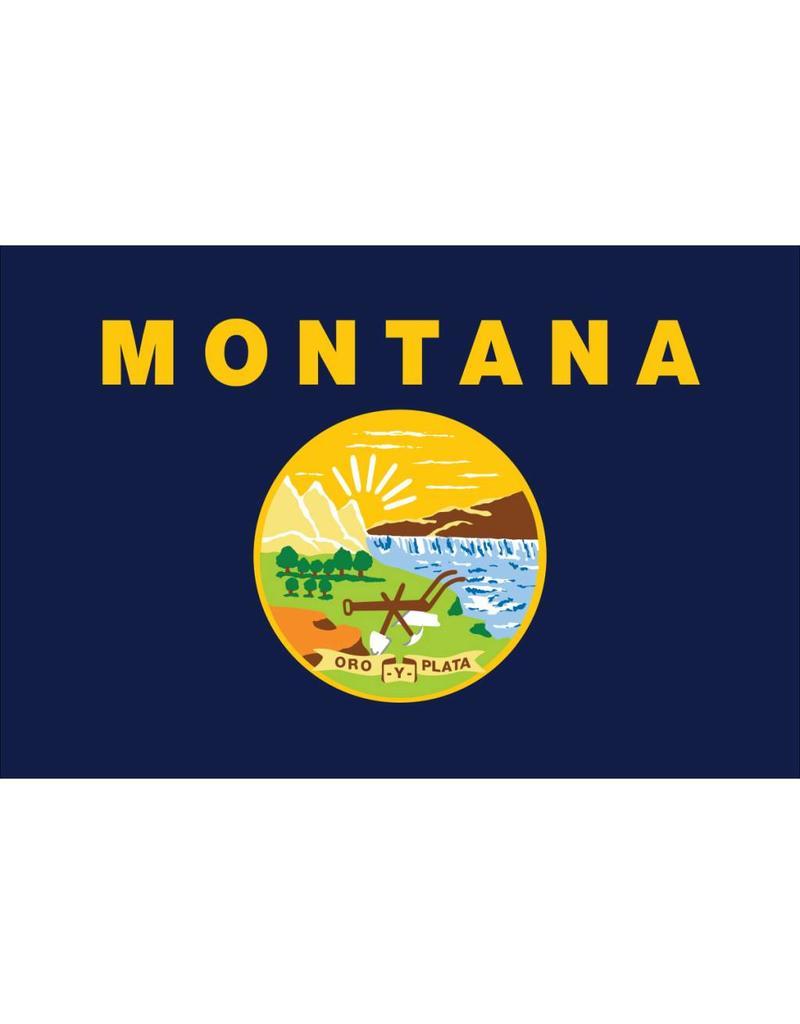 Montana Nylon Flag