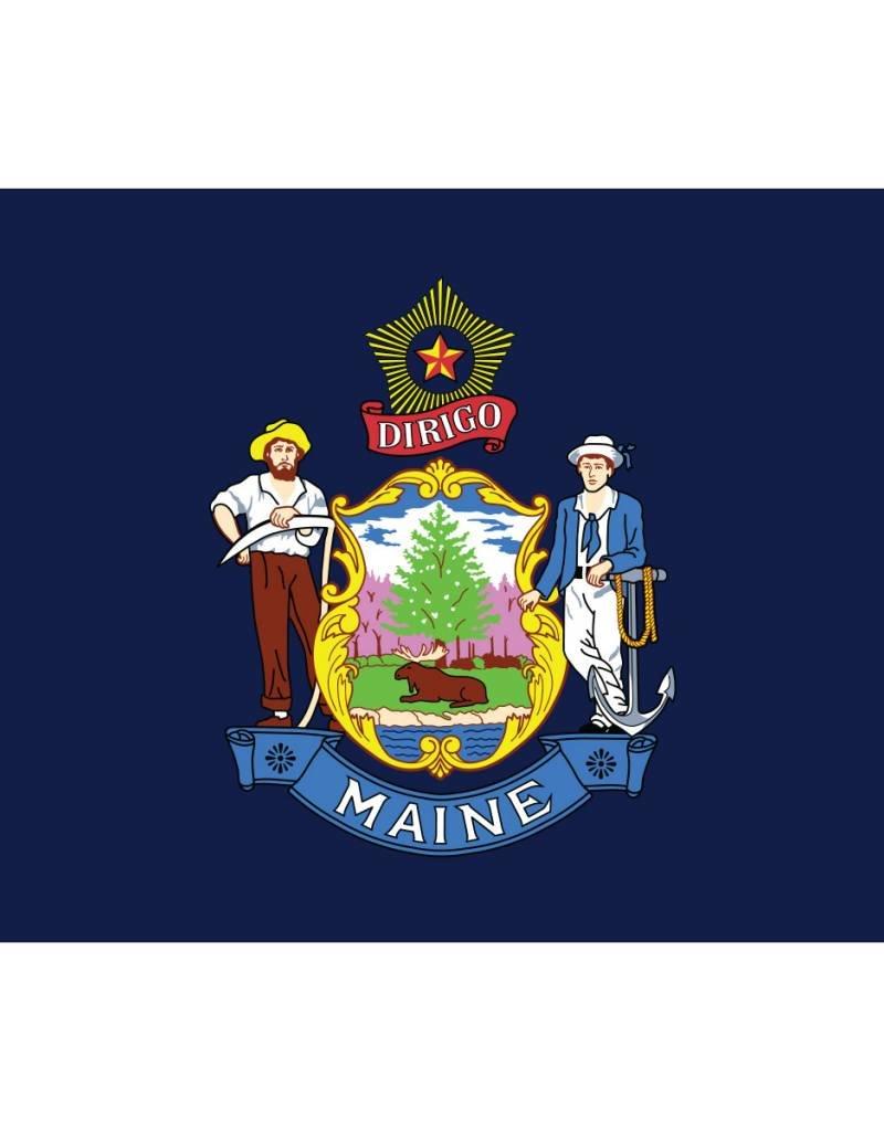Maine Nylon Flag