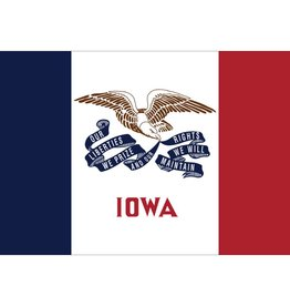 Iowa Nylon Flag