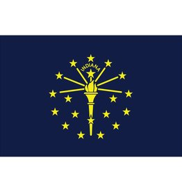 Indiana Nylon Flag