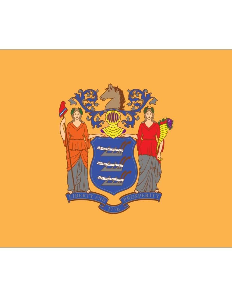 New Jersey Nylon Flag