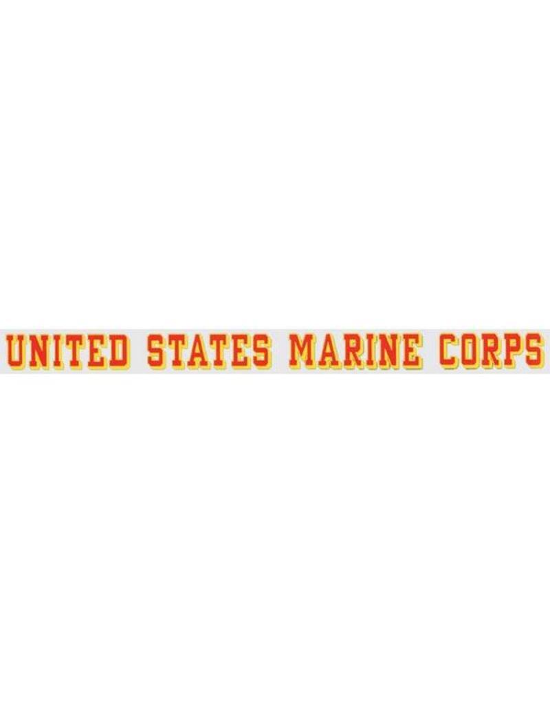 United States Marine Corps Window Strip Decal