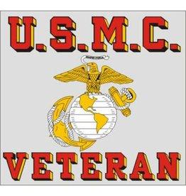 Marine Veteran Decal