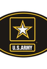 Army Star Logo Euro Style Decal