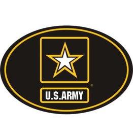 Army Star Logo Euro Style Decal