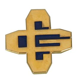 "Interlocking ""CG""  Lapel Pin"