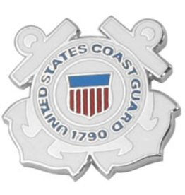 United States Coast Guard Emblem Lapel Pin