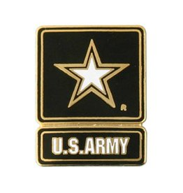 United States Army Star Logo Lapel Pin