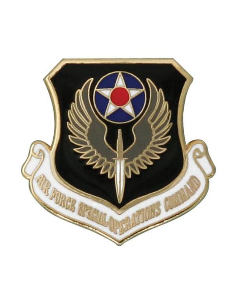 Air Force Special Operations Command Shield Logo Lapel Pin