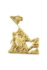 Iwo Jima Emblem Lapel Pin