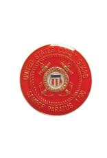 United States Coast Guard Academy Crest Lapel Pin