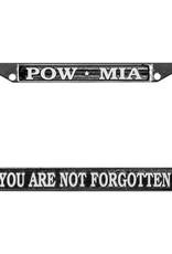Mitchell Proffitt POW/MIA Chrome Auto License Plate Frame