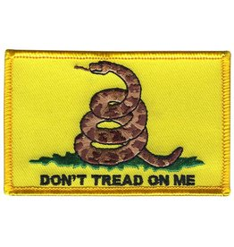 "Don't Tread with Coiled Snake 2""x3.375"" Patch"