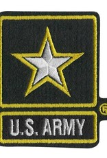 "Army Star 2X3"" Patch"