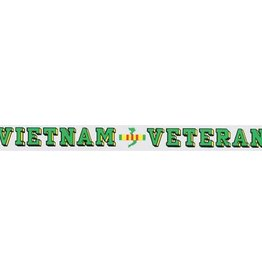 Vietnam Veteran Window Strip Decal