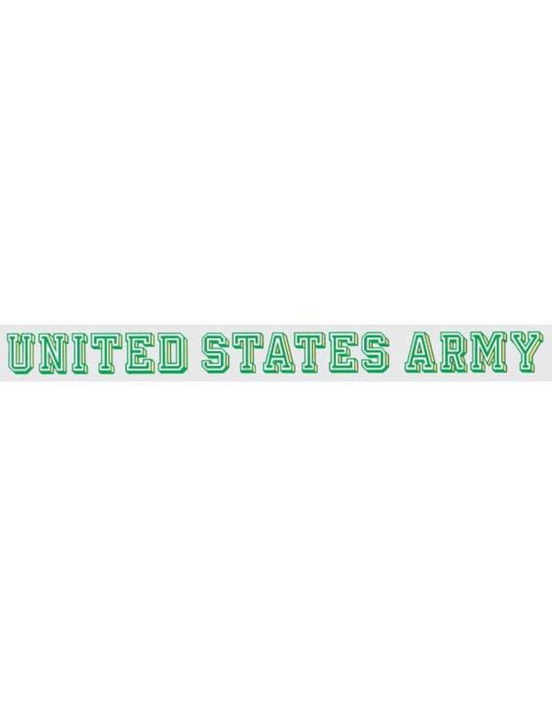 United States Army Window Strip Decal