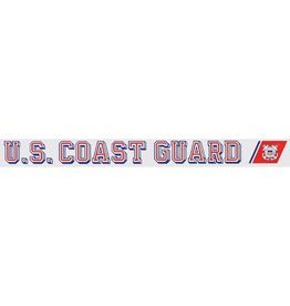 U.S. Coast Guard Window Strip Decal