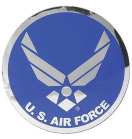 Air Force Large Round Prism Decal