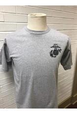 USMC Eagle with Globe & Anchor Logo T-shirt