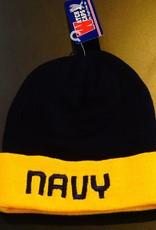 Navy Blue with Yellow U.S. Navy Watch Cap