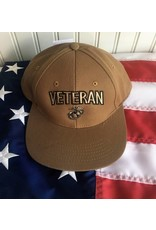 Marine Veteran with EGA in Coyote Brown