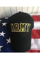 Army Baseball Cap in Black