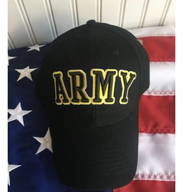 Army Baseball Cap in Black