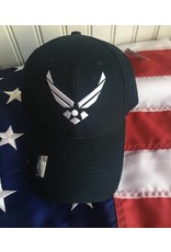 Air Force Logo Baseball Cap (Navy)