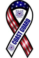 Coast Guard Ribbon Magnet