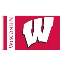 Wisconsin Badgers 3x5' Flag