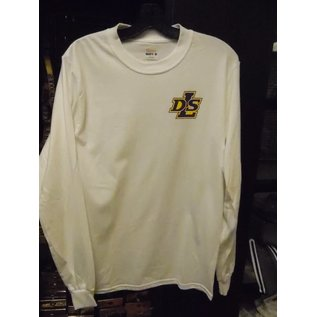Hanes T - Shirt  Long Sleeve Men's White