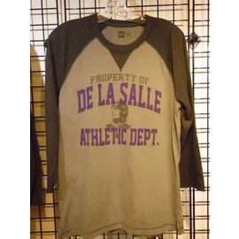 New Era T - Shirt Men's 3/4 Sleeve De La Salle Athletic Dept