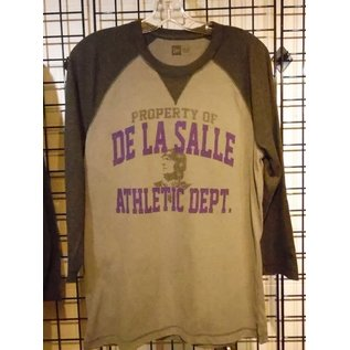 New Era T - Shirt Men's 3/4 Sleeve De La Salle Athletic Dept
