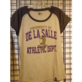 New Era T - Shirt Women's Property of De La Salle Athletic Dept