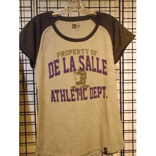 New Era T - Shirt Women's Property of De La Salle Athletic Dept