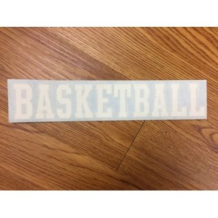 Car Decals - Individual Sport Words