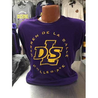 Gildan T - Shirt Youth Long Sleeve Cotton Warren De La Salle
