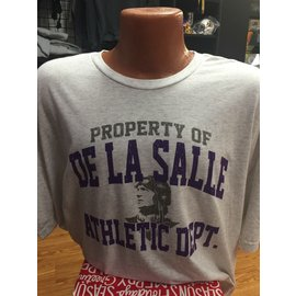 Next Level T - Shirt Men's Tri Blend De La Salle Athletic Dept