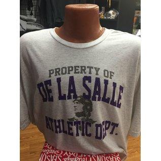 Next Level T - Shirt Men's Tri Blend De La Salle Athletic Dept