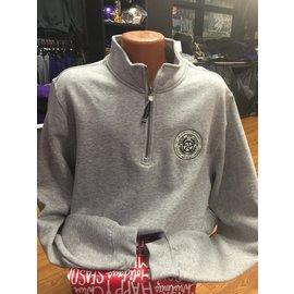 1/4 Zip De La Salle Crest Heavyweight Sweatshirt