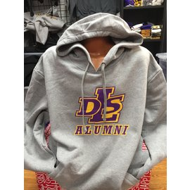 Next Level Sweatshirt - Alumni DLS Logo Hoodie