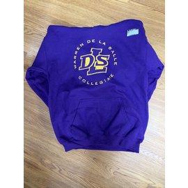 Gildan Sweatshirt - Youth Cotton Warren De La Salle Hoodie