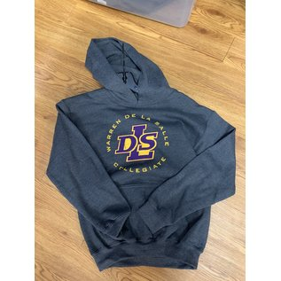 Gildan Sweatshirt - Youth Cotton Warren De La Salle Hoodie
