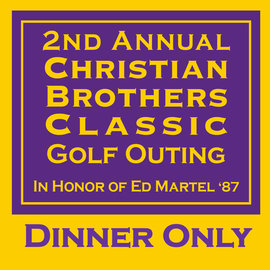 2020 Christian Brothers Classic Golf DINNER ONLY