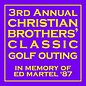2021 Christian Brothers'  Classic Golf Outing