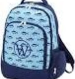 WB BLUE FISH BACKPACK