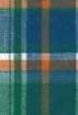 GREEN/BLUE/ORANGE/WHITE PLAID P7427FF