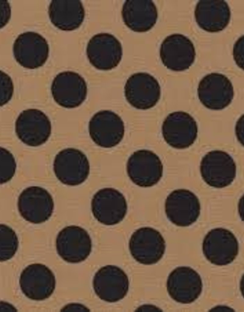 Fabric Finders FF GOLD/BLACK DOT